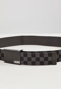 Vans - BY DEPPSTER II WEB BELT BOYS - Skärp - black-charcoal - 4