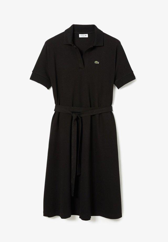 Košilové šaty - noir