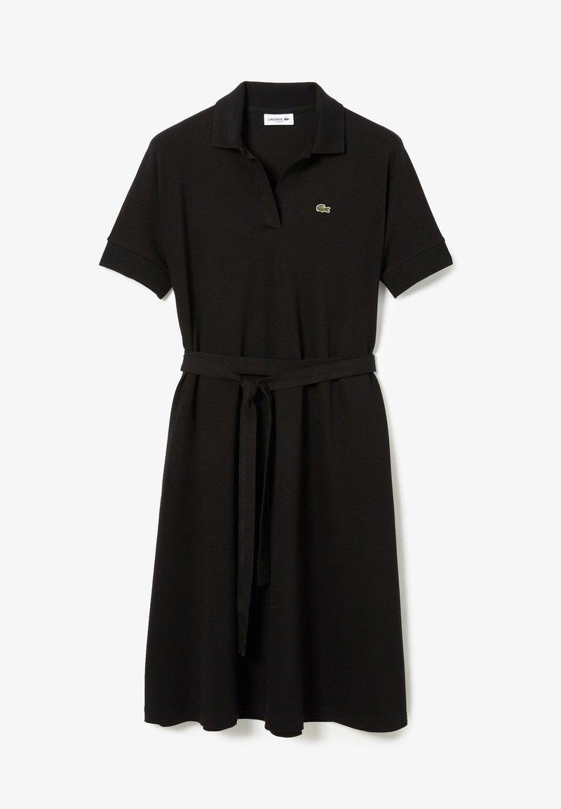 Lacoste - Robe en jersey - noir