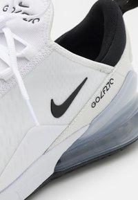 Nike Golf - AIR MAX 270 G - Golfskor - white/black/pure platinum - 5