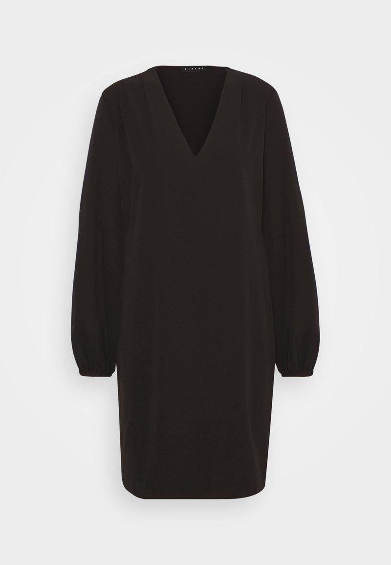 Sisley - DRESS - Day dress - black