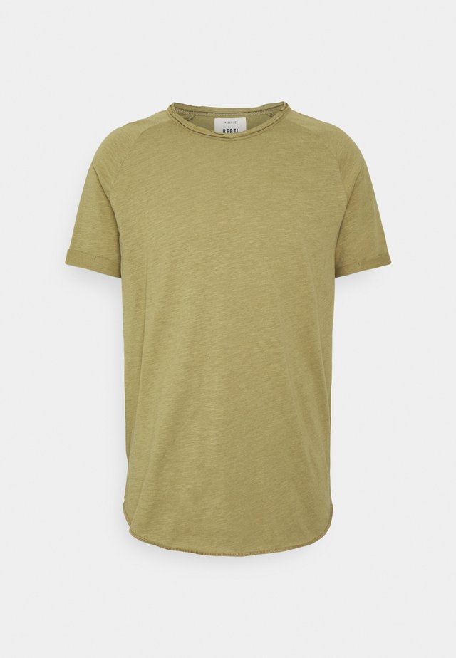 KAS TEE - T-shirt basic - dried herb