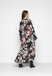 Missguided Plus - WRAP HIGH LOW MAXI DRESS - Day dress - multi - 2