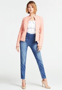 Guess - A$AP ROCKY - Faux leather jacket - rose - 1