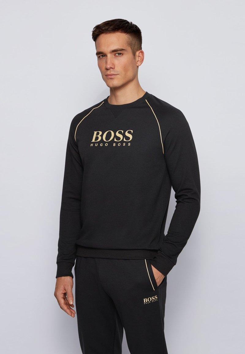 BOSS - TRACKSUIT SWEATSHIRT - Sweatshirt - black