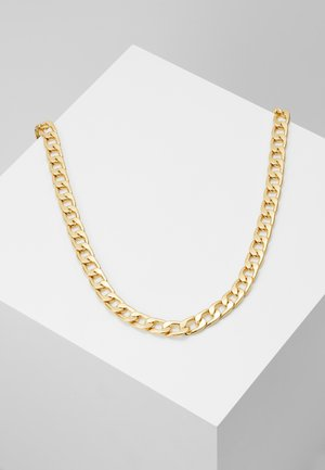 CHUNKY CHAIN NECKLACE - Necklace - pale gold-coloured