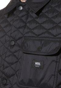 Vans - MN DRILL CHORE VEST MTE - Waistcoat - black - 2
