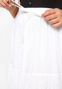 Yours Clothing - Maxi skirt - white - 2