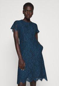 HUGO - KELIESE - Cocktail dress / Party dress - dark blue - 3