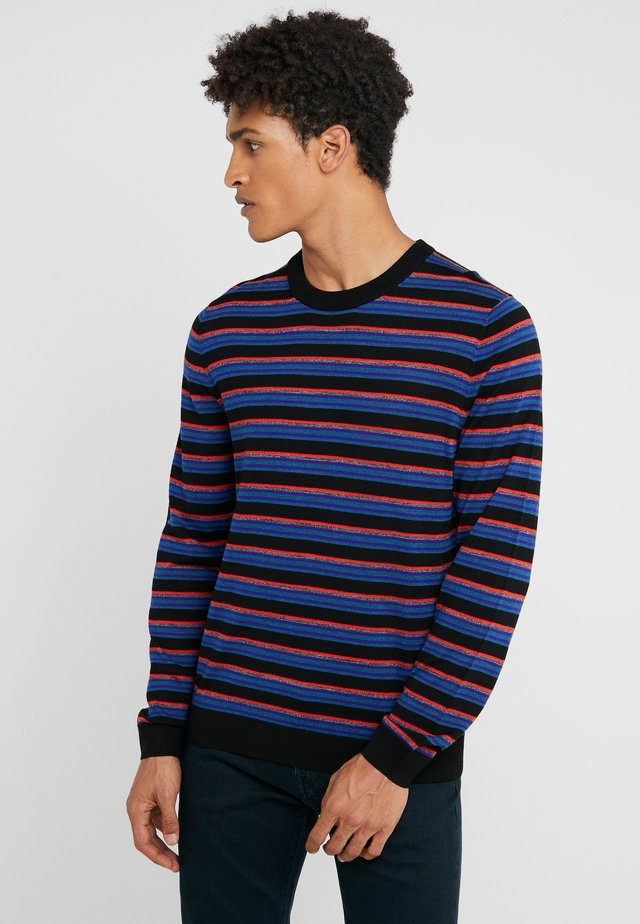 MENS PULLOVER CREW NECK - Maglione - black