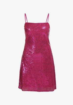 PAILLETTENKLEID - Robe de soirée - pink