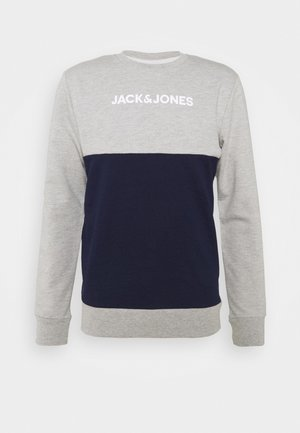 JACSMITH CREW - Pyjamasoverdel - light grey melange