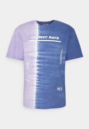 JORCOSMIC TEE CREW NECK - T-shirt imprimé - navy peony