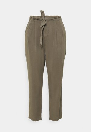 VMMIA LOOSE TIE PANT - Trousers - bungee cord