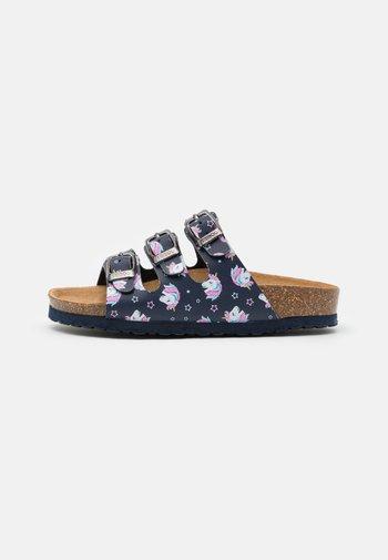 Domácí obuv - dark blue