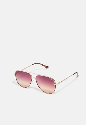 HIGH KEY TONE - Sunglasses - gold-coloured/orchid nectar