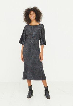 RAINBOW SPARKLE  - Jumper dress - black