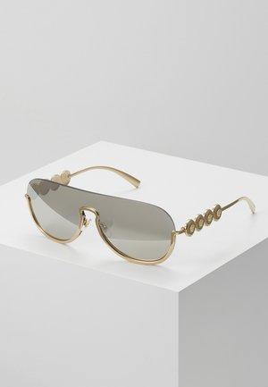 Sunglasses - pale gold-coloured