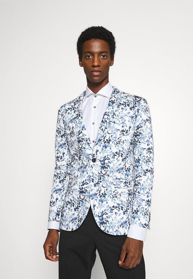 FLORAL - Veste de costume - blue