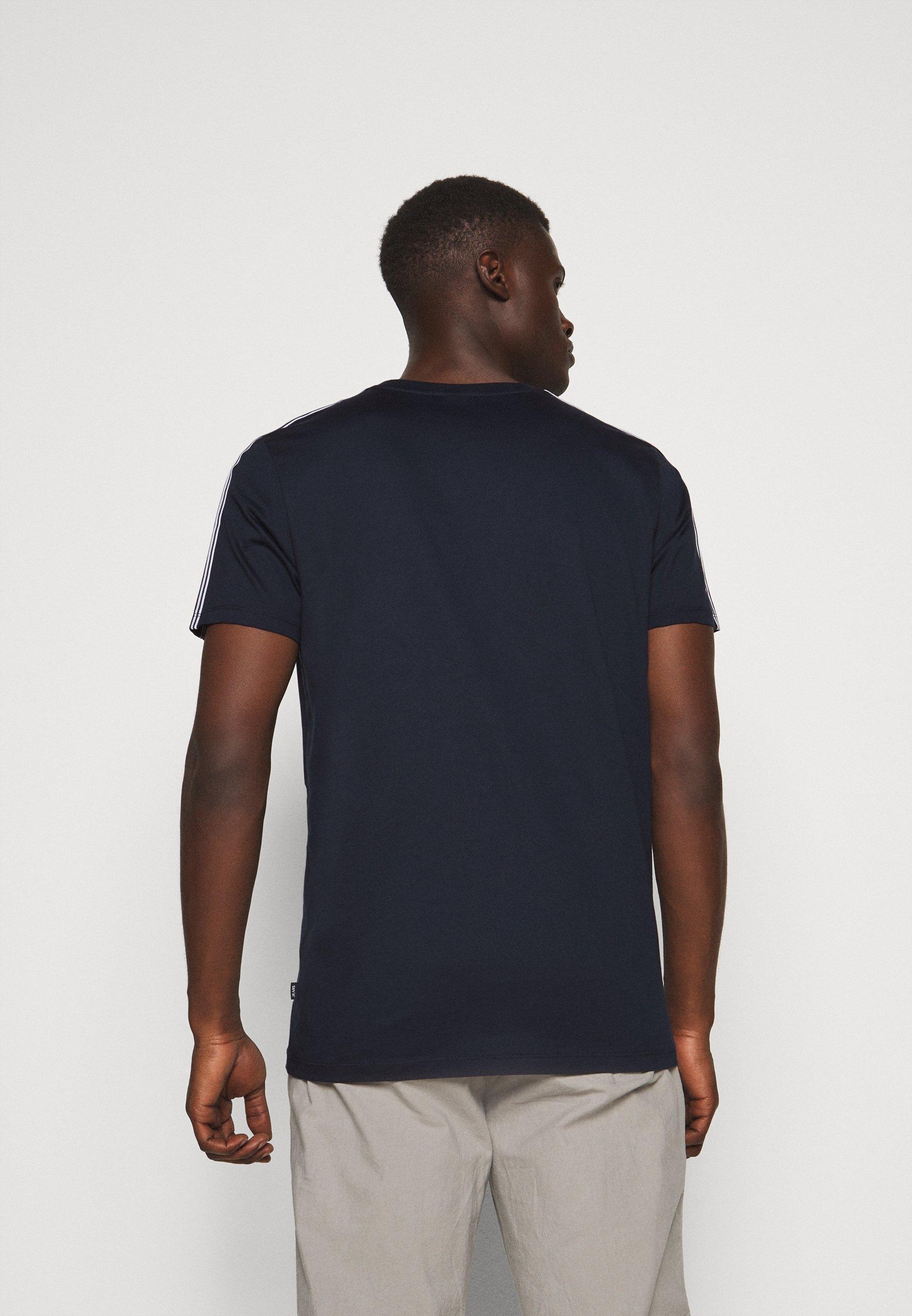 JOOP! Jeans SIRENO - Print T-shirt - dark blue aVKV7