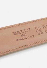 Bally - CHAIN - Pásek - bone - 3