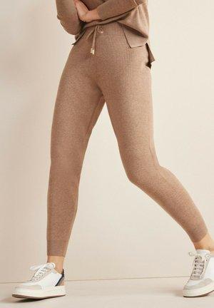 Teplákové kalhoty - taupe