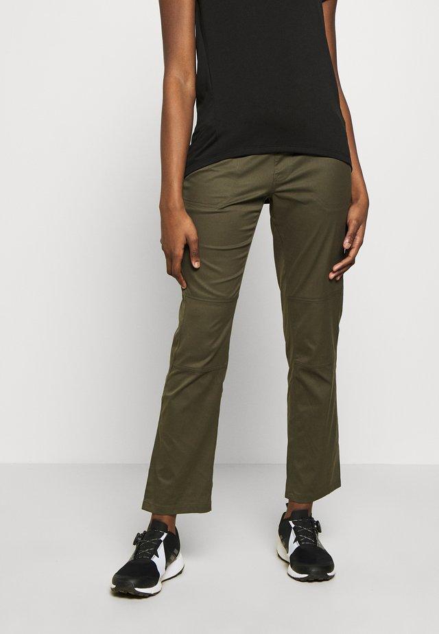 WOMEN'S APHRODITE PANT - Ulkohousut - new taupe green