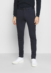 Jack & Jones - JJIMARCO JJPHIL - Tygbyxor - dark navy - 0