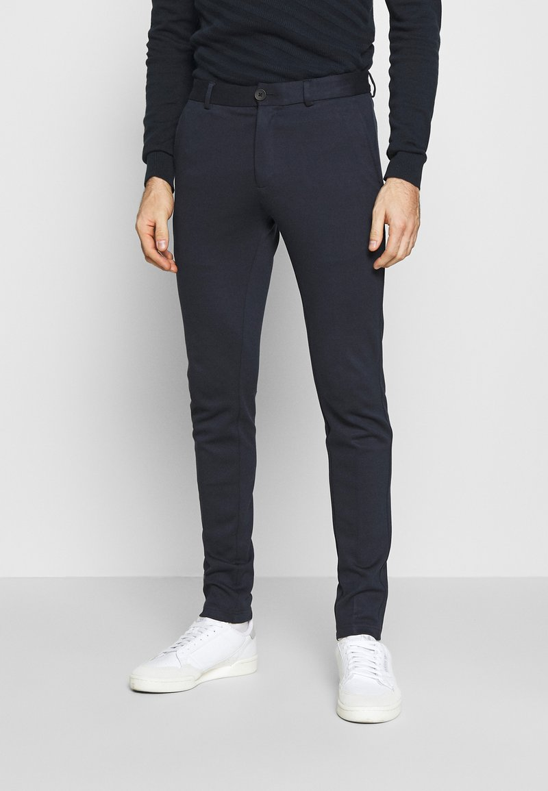 Jack & Jones - JJIMARCO JJPHIL - Tygbyxor - dark navy
