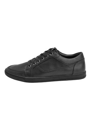 TAN PERFORATED TRAINERS - Sneaker low - black
