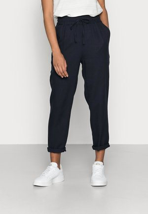 VMASTIMILO ANKLE PANTS - Trousers - navy