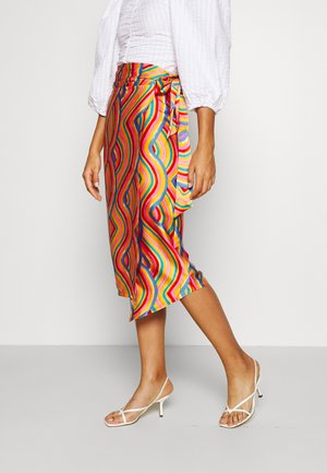 RAINBOW JASPRE SKIRT - Pencil skirt - multi