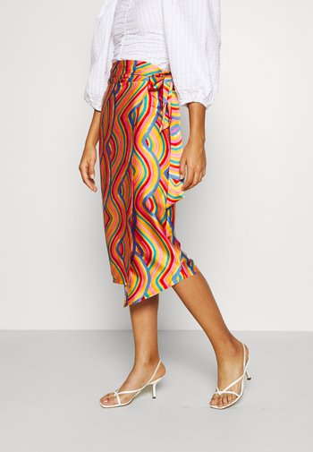SUMMER RAINBOW JASPRE - Zavinovací sukně - multi