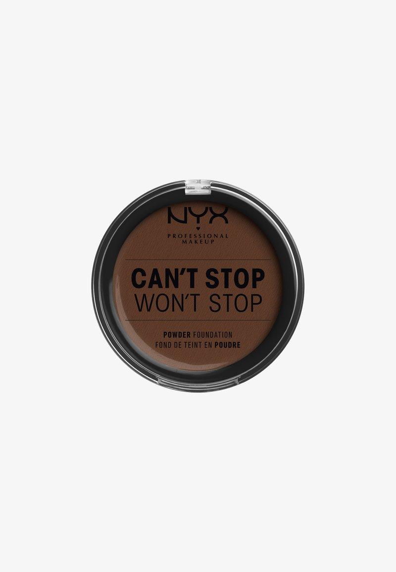 Nyx Professional Makeup - CAN'T STOP WON'T STOP POWDER FOUNDATION - Powder - CSWSPF22PT7 deep walnut