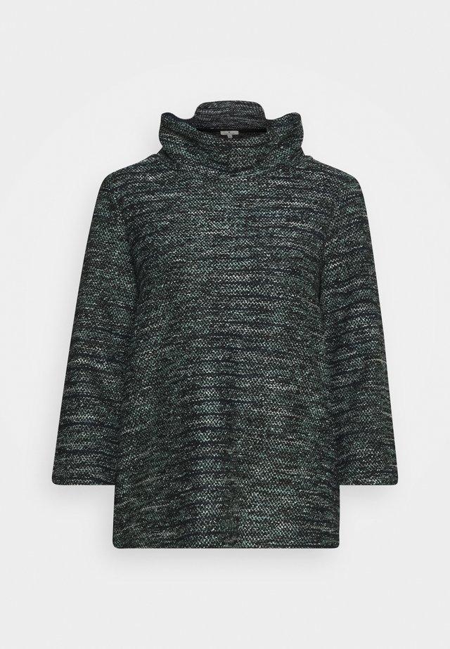 Sweter - mint/black/white