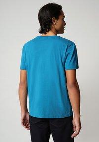 Napapijri - SALIS - T-shirt basic - mykonos blue - 1