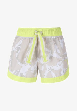 THE FIRST MILE SHORT - Sports shorts - sunny lime-camo prt