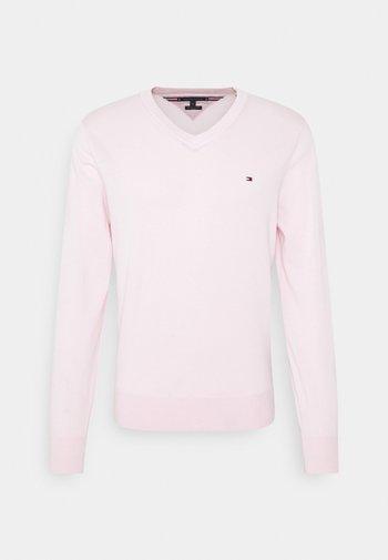 V NECK - Svetr - light pink