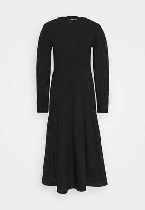 SMOCK DRESS - Day dress - pitch black
