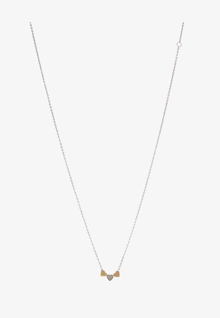 Fossil Vintage Motifs Necklace Silver Rose Gold Gold Coloured Silver Zalando Co Uk