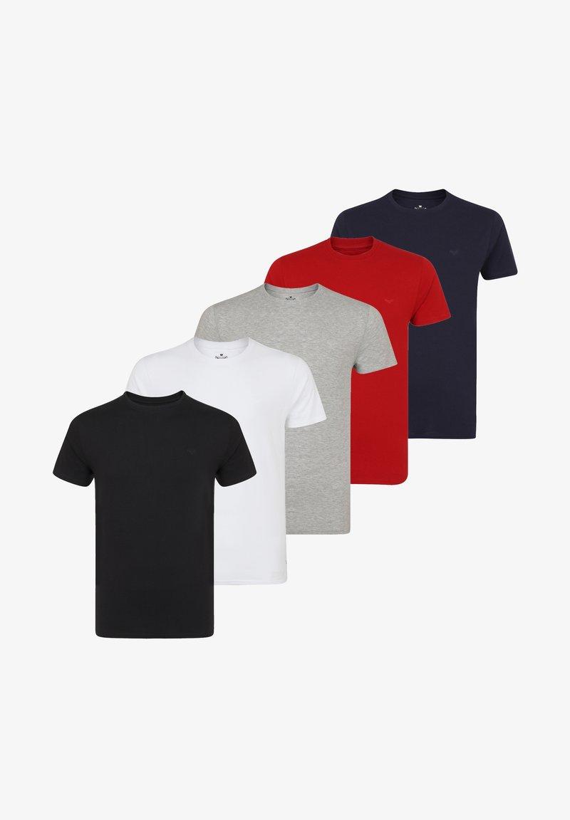 Threadbare - 5 PACK - Basic T-shirt - multi