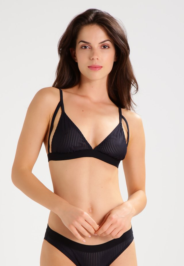 BE TRUE - Triangle bra - dark blue