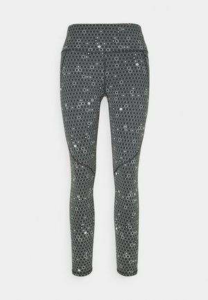 POWER 7/8 REFFLECTIVE WORKOUT LEGGINGS - Medias - grey