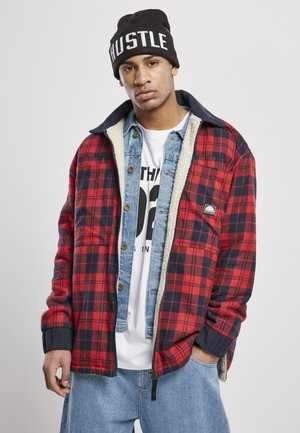FLANNEL SHERPA - Light jacket - red