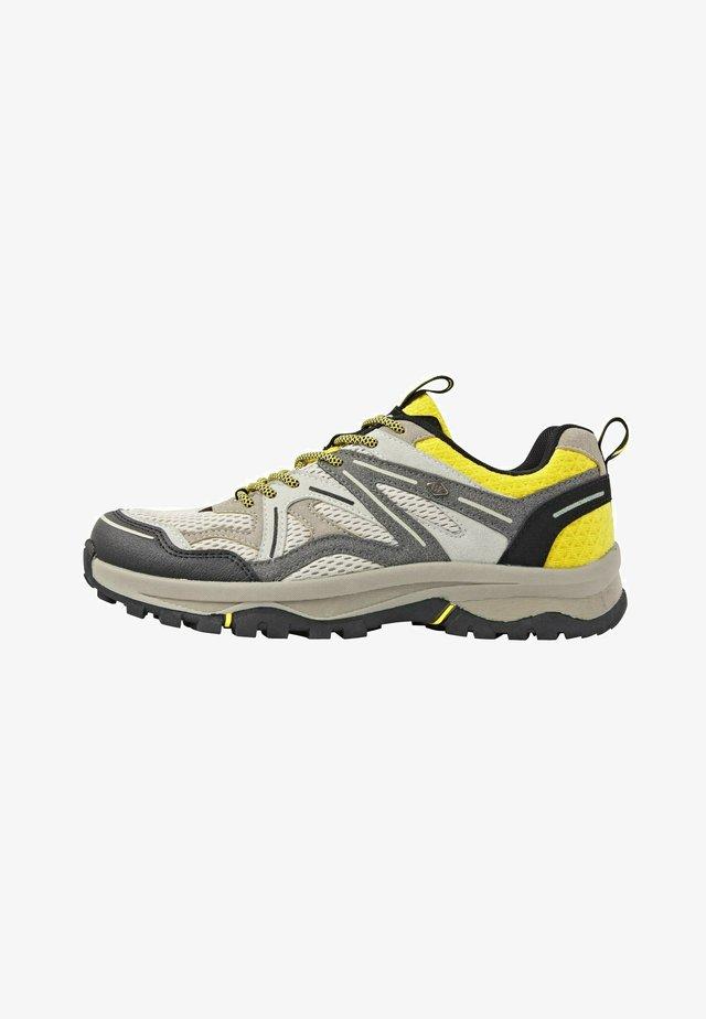THORN - Tenisky - beige/black/yellow