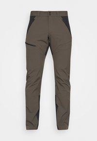 LIGHT CARBON PANTS - Outdoor trousers - black/olive