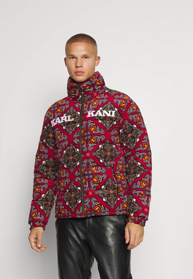 Karl Kani - RETRO REVERSIBLE PUFFER JACKET UNISEX - Lagana jakna - multicolor