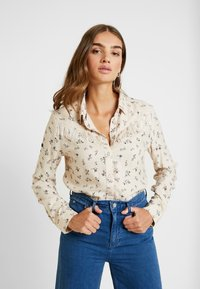Superdry - JOLENE WESTERN - Button-down blouse - pink print - 0