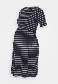 Envie de Fraise - LIMBO - Jersey dress - navy blue/off-white - 0