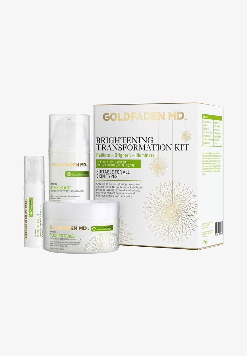 Goldfaden MD - BRIGHTENING TRANSFORMATION KIT - Face cream - -